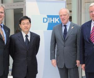 香港政务司司长林瑞麟率团访德波