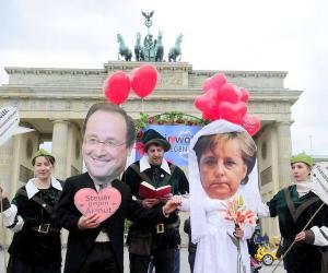 分歧中寻找共鸣  需要二见钟情---默克尔与法国新总统奥朗德首次会晤