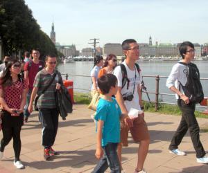 德国汉堡华人基督教会 2012年建堂基金步行筹款活动