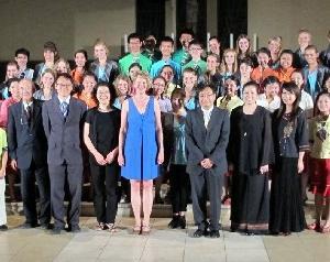 首届海外华裔青少年中华文化知识大赛才艺赛