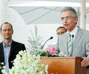 法兰克福市长举办年度媒体招待会