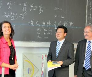 德国中学首次将汉语作为第三外语必修课