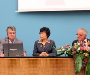 北京柏林基础教育交流会在红色市政厅举行