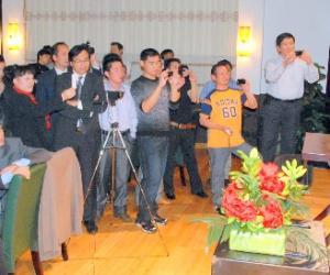 文化中国·中华美食厨艺展示在德三地举行