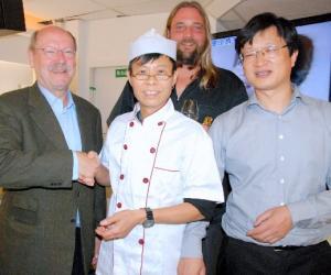 前所未有的美食盛宴为中德经济文化交流搭桥